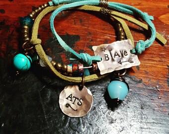 Custom bracelet set; boho bracelets