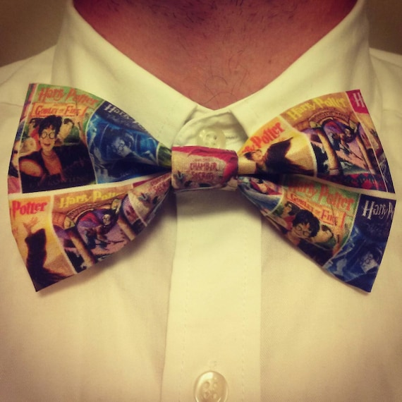 Harry Potter Book Covers Bow Tie/Hair Bow