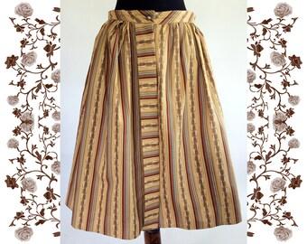 1960's Vintage Dirndl Skirt