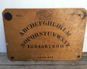 Antique Very Rare Large 1902 Ouija Board by William Fuld