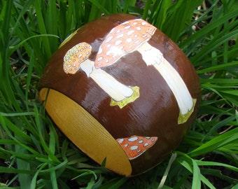 """Wood Bracelet - Wood Bangle """"Fairy Ring"""" / Free Shipping"""