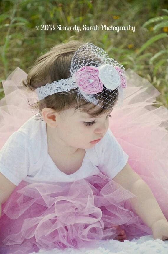Vintage Pink Baby Tutu Skirt