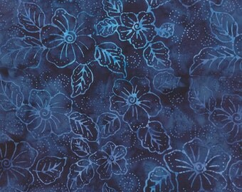 Moda - De La Sol Batiks in Deep Ocean 4337-35