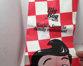 Vintage Bobs Big Boy bag