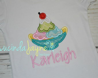 Banana Split/Ice Cream Sundae Shirt