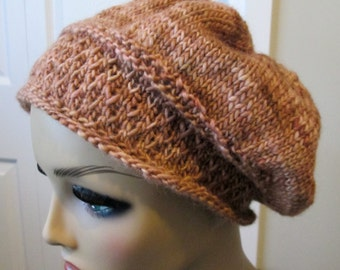 Knitted Winter Slouch Hat