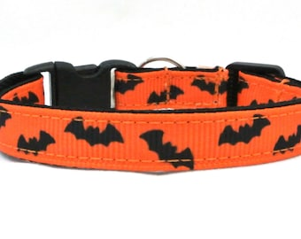 Going Batty Halloween Breakaway Cat Collar