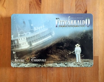 Werner Herzog Fitzcarraldo VHS w/ Limited Edition Tin Container & Booklet