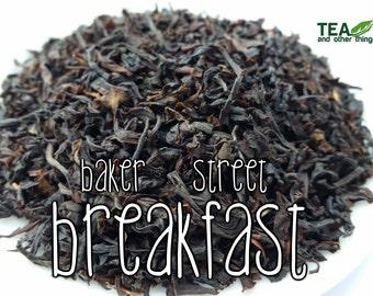 50g Baker Street Breakfast - Loose Black Tea (BBC Sherlock Inspired)