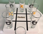 Pittsburgh Steelers Drink Tac Toe Game