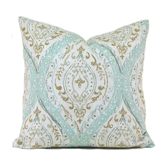 How To Measure Throw Pillow Covers : Pillow Covers ANY SIZE Decorative Pillow Cover Robins Egg Blue