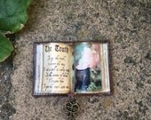 Truth Spell Witch Spell Book - Dollhouse Miniatures