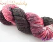 Colourful Tweed Sock - Pink Elephant
