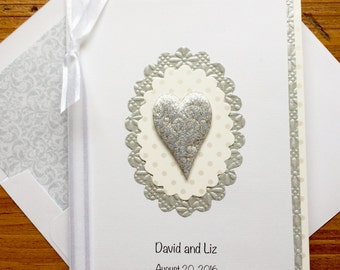 Wedding Congratulations Card-With Names And Wedding Date