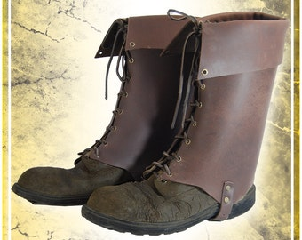 Simple Boots Gaiters
