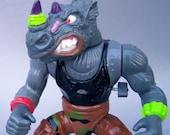 Vintage Wacky Action Rocksteady C8 Teenage Mutant Ninja Turtles