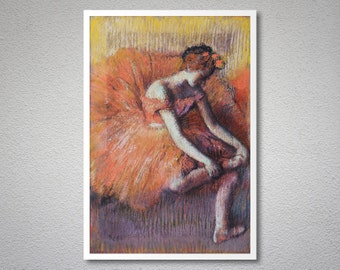 Dancer by Edgar Degas - Poster Paper, Sticker or Canvas Print