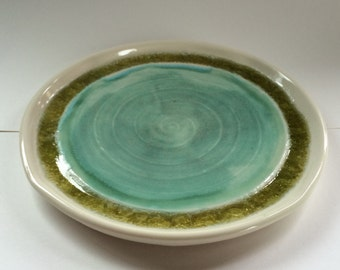 EH Porcelain Glass Saucer