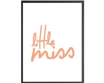 Little Miss - Print
