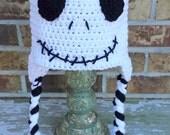 Jack Skellington Crochet Hat.