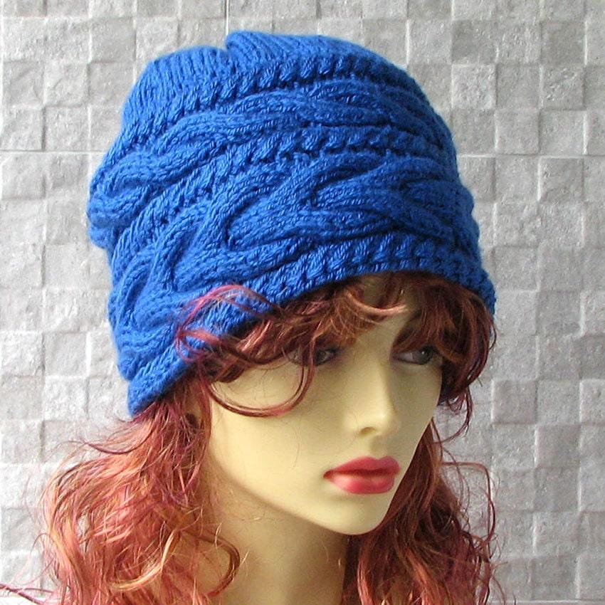 s knit hats s blue winter hat s