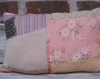 Cute Crazy Quilt Pillow