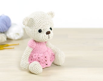 SALE -50% | Teddy bear in a dress - 4-way jointed