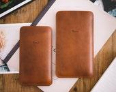 "Nexus 5X case, Nexus 5X Sleeve, Nexus 5X Cover, ""Dandy"" - leather, wool felt"