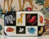 Vintage Carrs of Carlisle Safari Jungle Zoo Animal Biscuit Tin Kitsch