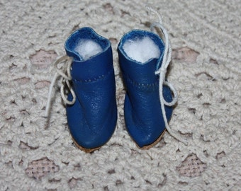 Leather Shoes for Small Bisque Dolls...fits Patsyette too