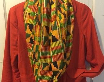 Image result for Kente cloth scarves