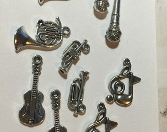 Musical Instrument Charms