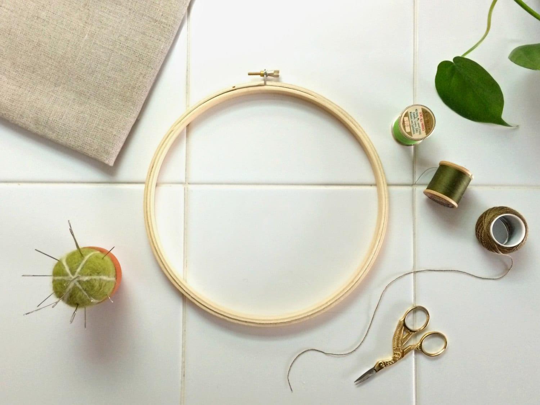 LARGE NEEDLEWORK FRAME 8 Embroidery Hoop For Bigger