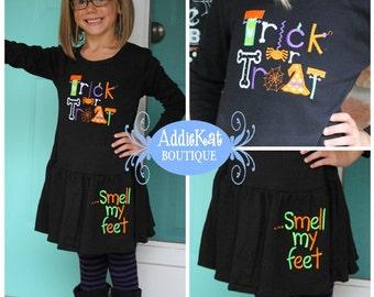Halloween Trick or Treat....Smell My Feet Dress