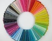 L's Modern Basics Rainbow Fat Eighth Bundle - Lecien - 63 Fat Eighths