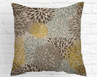 Gray Ivory Pillow ,Decorative Throw Pillow Covers  Grey  Cushion Covers  All Sizes Accent Pillows   Pillows