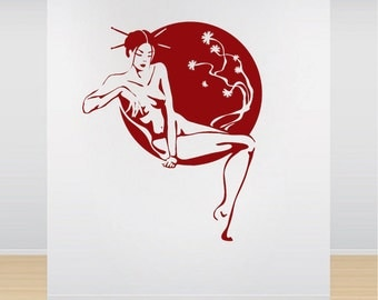 Asian Vinyl Decal Etsy - Vinyl wall decals asian