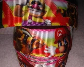 Super Mario Grosgrain Ribbon