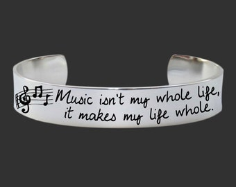 Gifts for Friends | Gifts for Her | Teen Gifts | Daughter Gift | Music isn't My Whole Life | Korena Loves