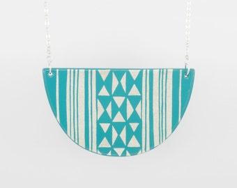KILIM Necklace Turquoise