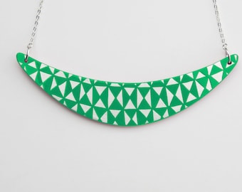 BOOMERANG Necklace Jade