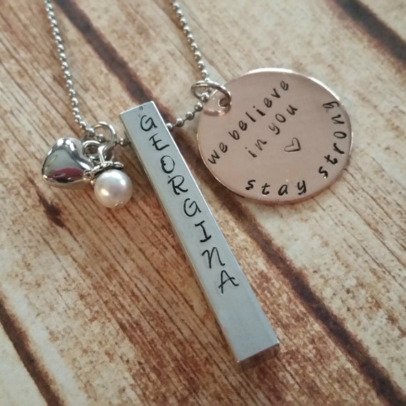 date necklace addiction recovery gift sobriety jewelry recovery ...