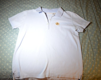A Vintage Light Blue Top by Liz Claiborne Lizsport in Size Small