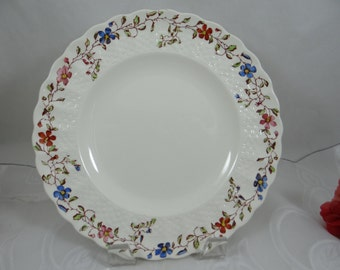 "Vintage Copeland Spode English Bone China Dinner Plate ""Wicker Dale"" Pattern - 12 available"