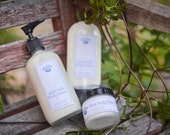 Sandalwood Lotion 8oz with Goat Milk and Shea Butter