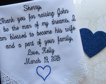 Wedding Handkerchiefs are a wonderful tradition. Bridal Handkerchief