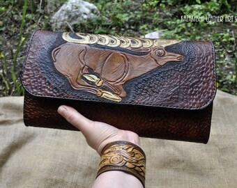 "SALE End of the Season - Handbag styled in Kazakhsha style ""The Gold of Ancient Scythia"""