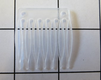 1 Dozen Mini hair combs to sew on Hair Accessories with 2 holes