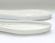 Shoe Rubber Soles for Boots Slipper Soles Crochet Shoes Boots Soles White