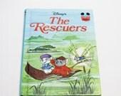 Disney's The Rescuers 1977 Hardcover Book